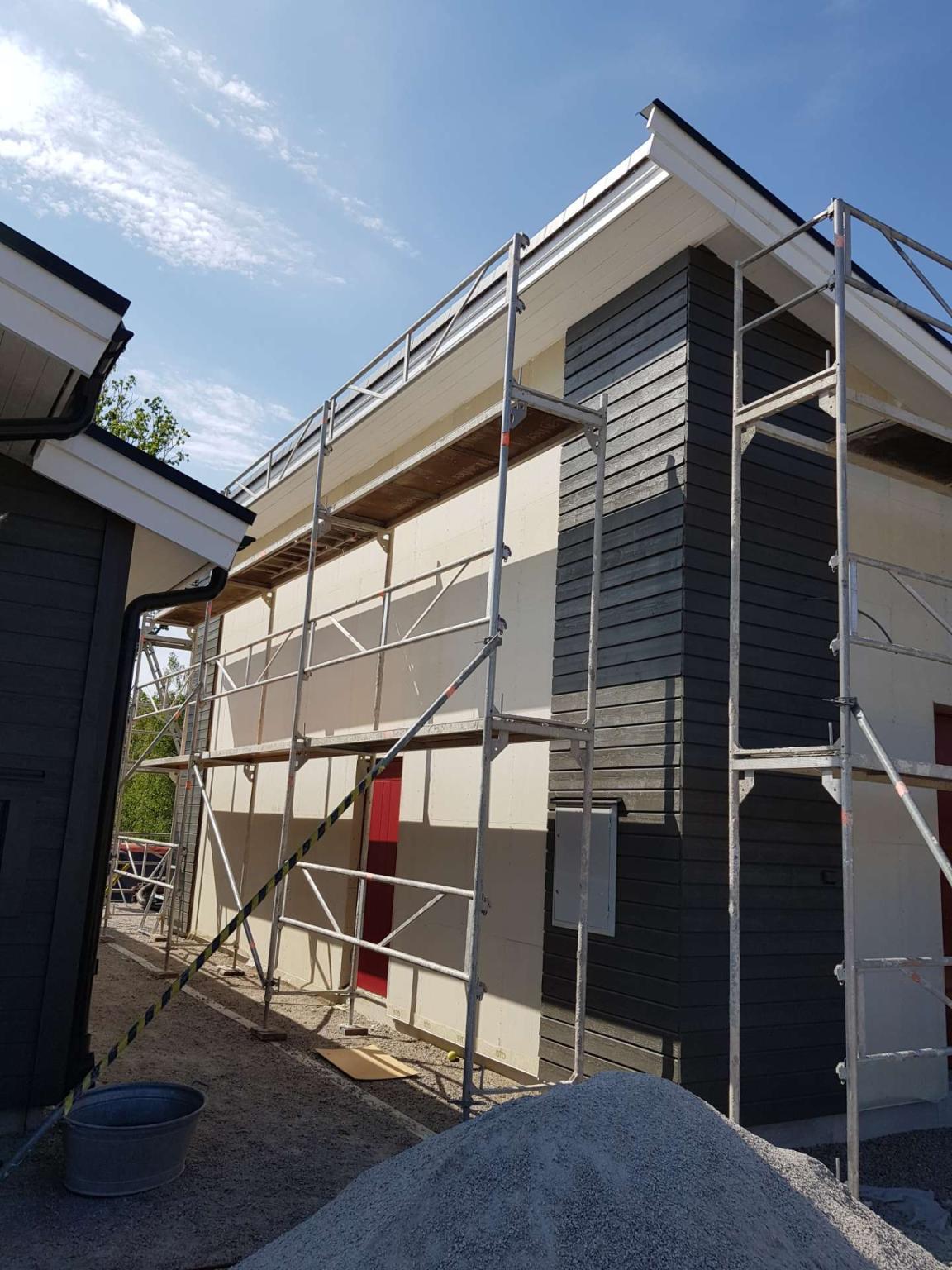 Fasadrenovering av Blekinge fasad ab