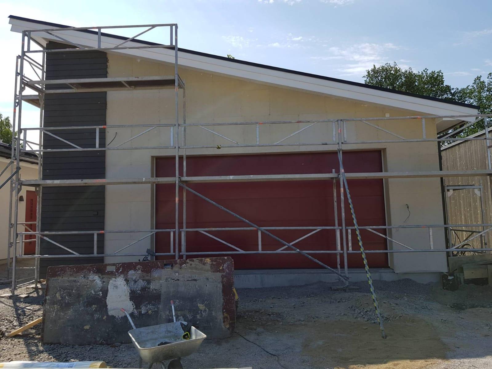 Fasadputsning av Blekinge fasad ab