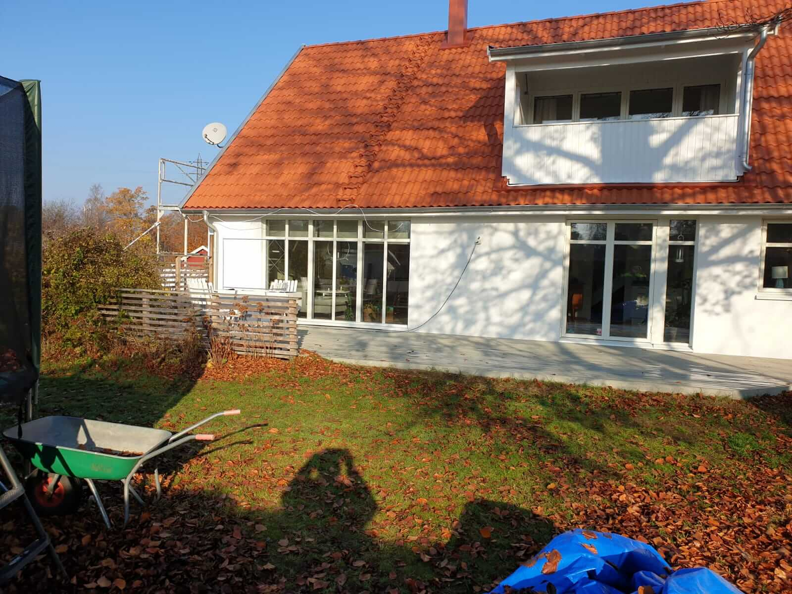 tegel och trärenovering av Blekinge fasad ab