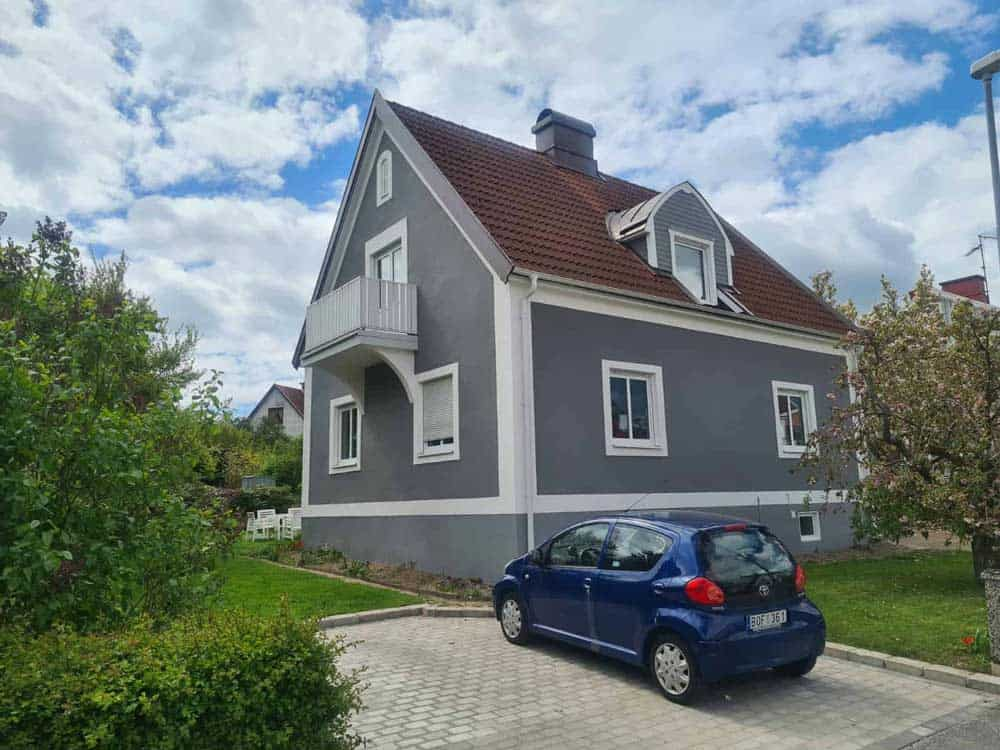 Putsat-hus-i-Ronneby
